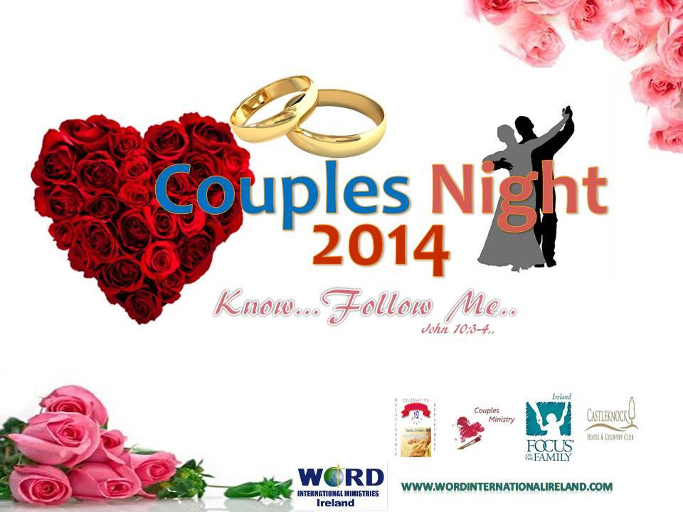 Couples' Night 2014 21st Feb