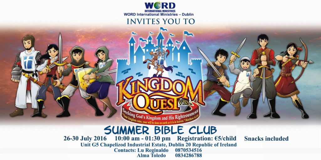 Summer Bible Club Revised Invitation
