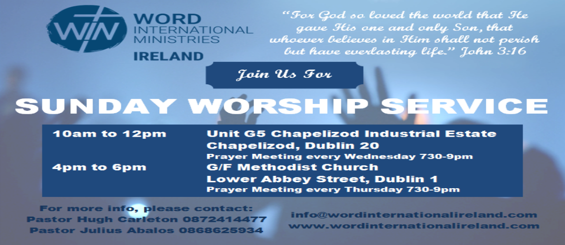 Dublin Worship Services