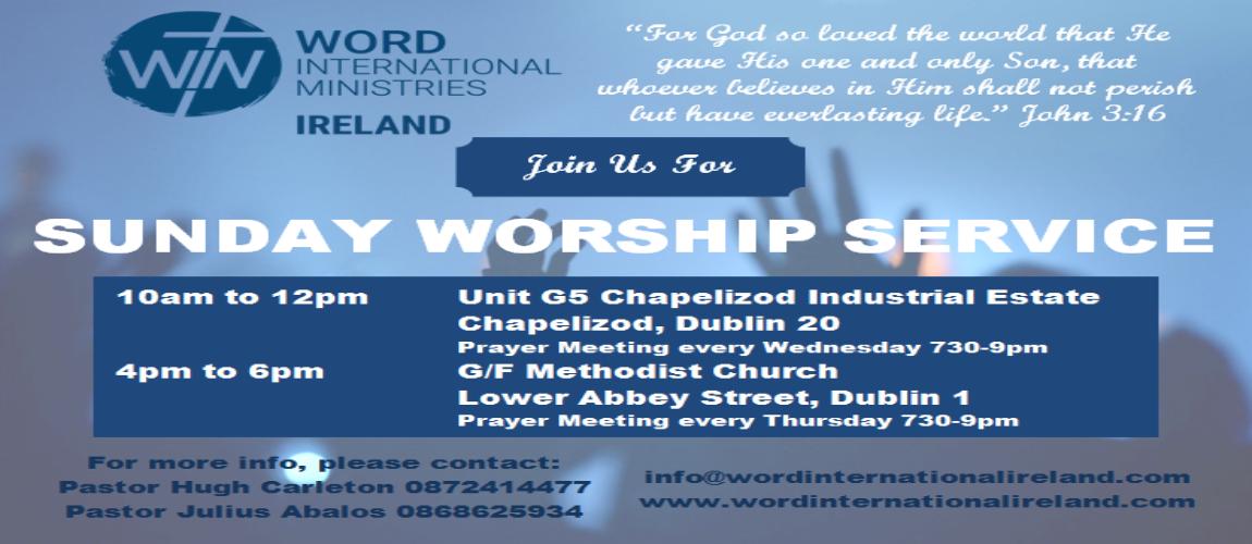 Dublin Worship Services